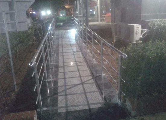 alüminyum korkuluk, köprü